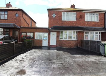 Thumbnail 3 bed semi-detached house for sale in Aston Road, Willenhall