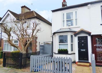 Thumbnail 2 bed end terrace house for sale in Rosebery Road, Bushey, Hertfordshire