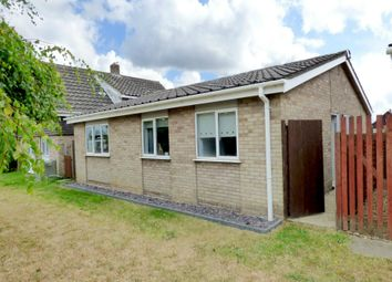 Thumbnail 3 bed detached bungalow for sale in Glebe Close, Long Stratton, Norwich