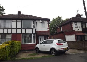 Thumbnail 3 bed semi-detached house for sale in Gowerdale Road, Stockport, Greater Manchester