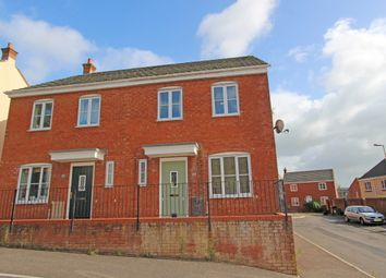 Thumbnail 3 bed semi-detached house for sale in Highland Park, Uffculme