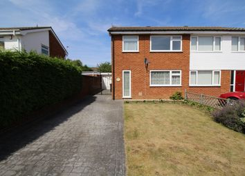 Thumbnail 3 bed semi-detached house to rent in Ribble Way, Bedford