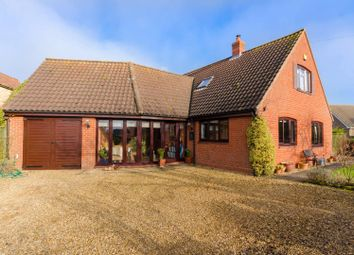 Thumbnail 3 bed detached house for sale in Corby Road, Swayfield, Grantham
