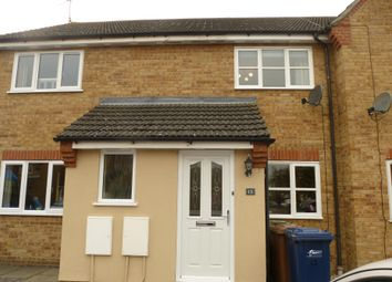 Thumbnail 2 bed terraced house to rent in Swanton Close, March