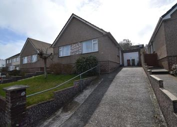 Thumbnail 3 bed detached bungalow to rent in Stanborough Road, Plymouth, Devon