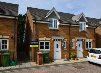 Thumbnail 2 bed semi-detached house to rent in Llantillio Drive, Beacon Park, Plymouth, Devon