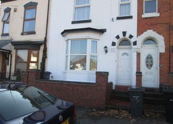 Thumbnail 5 bed terraced house for sale in Western Road, Erdington, Birmingham
