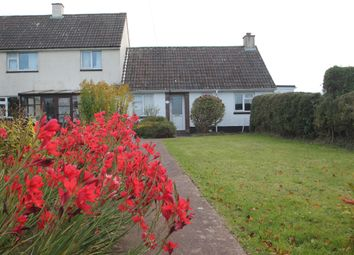 Thumbnail 2 bed semi-detached bungalow for sale in Pennymoor, Tiverton, Devon