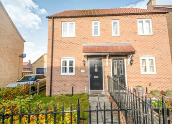 Thumbnail 2 bedroom semi-detached house for sale in Knowles Way, Bardney, Lincoln