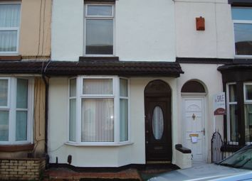 Thumbnail 2 bed terraced house to rent in Milton Road, Liverpool