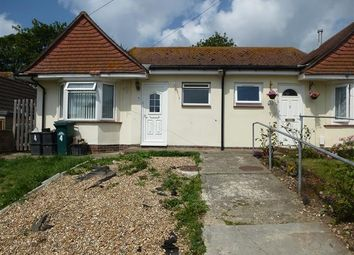 Thumbnail 2 bedroom bungalow to rent in Manor Close, Brighton