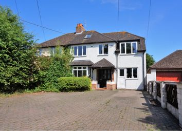 Thumbnail 4 bed semi-detached house for sale in Steventon Road, Drayton, Abingdon