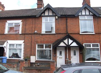 Thumbnail 3 bed terraced house for sale in Ashby Street, Norwich