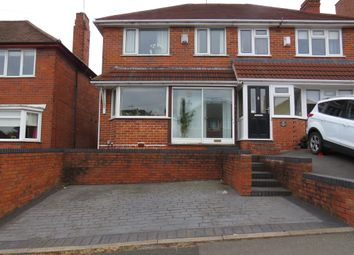 Thumbnail 3 bed semi-detached house for sale in Longstone Road, Great Barr, Birmingham