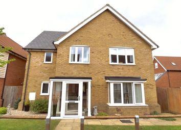 Thumbnail 4 bed detached house for sale in Kestrel Walk, Hawkinge, Folkestone
