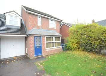 Thumbnail 3 bed link-detached house to rent in Culvercroft, Binfield, Bracknell