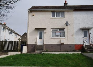 Thumbnail 2 bed end terrace house for sale in Davaar Road, Saltcoats