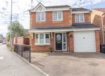 Thumbnail 4 bed detached house for sale in Ashley Way, Market Harborough