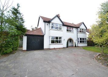 Thumbnail 6 bed detached house for sale in Styal Road, Wilmslow