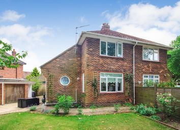 Thumbnail 2 bed semi-detached house for sale in Jessopp Road, Norwich