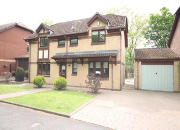 Thumbnail 4 bed detached house for sale in Woodhead Crescent, Uddingston, Glasgow