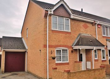 Thumbnail 3 bed end terrace house for sale in Sullivan Close, Cosham, Portsmouth