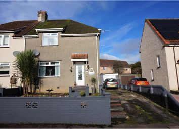 Thumbnail 3 bed semi-detached house for sale in David Gage Street, Kilwinning