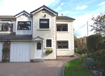 Thumbnail 4 bed mews house for sale in The Moorings, Hollinwood Road, Disley, Stockport