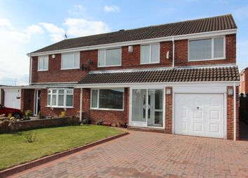 Thumbnail 4 bed semi-detached house to rent in Wensleydale, Hadrian Lodge W, Wallsend.