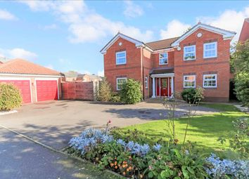 Thumbnail 4 bed detached house for sale in Grandfield Way, North Hykeham, North Hykeham, Lincoln