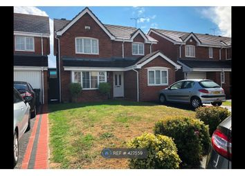 Thumbnail 4 bed detached house to rent in Mercers Meadow, Keresley, Coventry