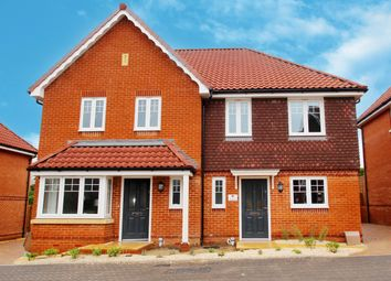 Mendip Mews, Ashley Gardens, Oakley RG23. 3 bed semi-detached house for sale