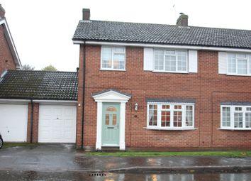 Thumbnail 3 bed property for sale in Shepperton Close, Castlethorpe, Milton Keynes