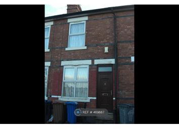 Thumbnail 2 bed terraced house to rent in Havelock Road, Derby