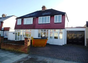 Thumbnail 3 bedroom semi-detached house for sale in Fircroft Road, Chessington