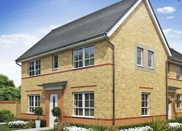 "Thumbnail 3 bedroom semi-detached house for sale in ""Ennerdale"" at Tiber Road, North Hykeham, Lincoln"