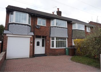 Thumbnail 4 bed semi-detached house for sale in Barnard Avenue, Manchester