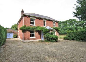 Thumbnail 4 bedroom detached house for sale in Burcombe Lane, Hangersley, Ringwood