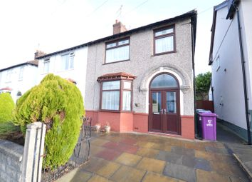 Thumbnail 3 bed semi-detached house for sale in Oulton Road, Childwall, Liverpool