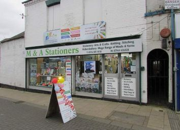 Thumbnail Retail premises for sale in 45-47 Bell Street, Wigston