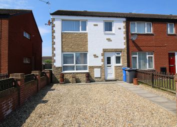 Thumbnail 3 bed end terrace house for sale in Hodder Avenue, Fleetwood