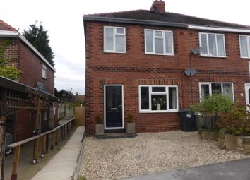 Thumbnail 3 bed semi-detached house to rent in Manor Road, Harlington, Doncaster