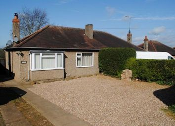 Thumbnail 2 bed semi-detached bungalow for sale in Welford Road, Kingsthorpe, Northampton