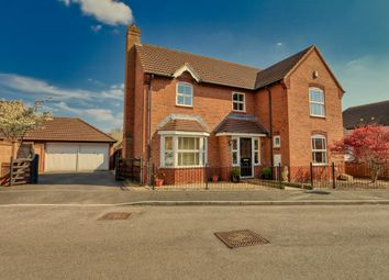 Thumbnail 4 bed detached house for sale in Barbers Mead, Taunton