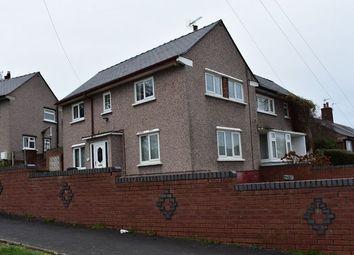 Thumbnail 3 bedroom semi-detached house to rent in Ffordd Ddyfrdwy, Mostyn, Holywell