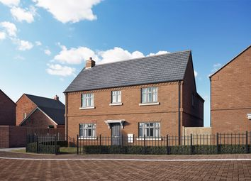 Thumbnail 4 bedroom detached house for sale in Lower Street, Hillmorton, Rugby, Warwickshire