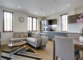 Thumbnail 2 bed flat for sale in Belair House, Chertsey Boulevard, Hanworth Lane, Chertsey