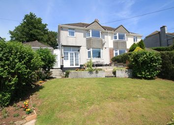 Thumbnail 3 bed semi-detached house for sale in Underlane, Plymstock, Plymouth