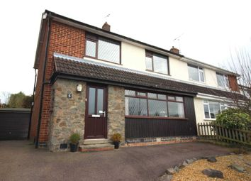 Thumbnail 3 bed semi-detached house for sale in Whitesand Close, Glenfield, Leicester