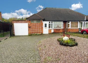Thumbnail 2 bed semi-detached bungalow for sale in The Bridle, Glen Parva, Leicester